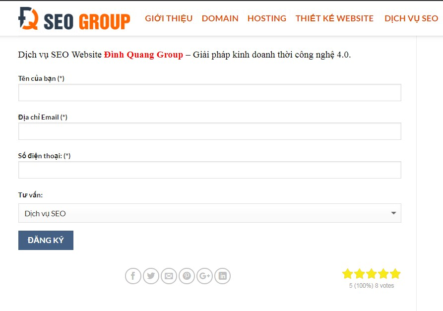 Hình ảnh vote bởi plugin kk star ratings