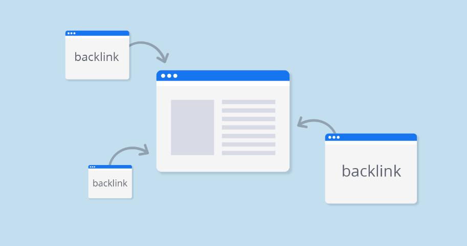 Liên kết backlink từ các website khác vào website của bạn