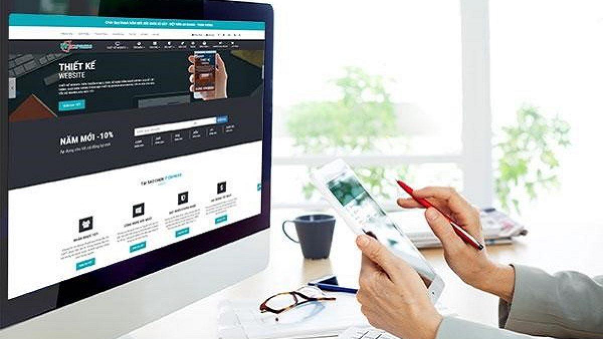 Thiết kế website giúp công việc kinh doanh thuận lợi hơn